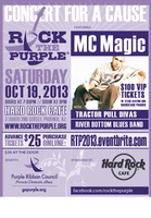 Rock the Purple Phoenix October 19, 2013