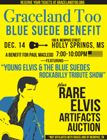 Graceland Too Blue Suede Benefit