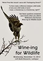 Wine-ing for Wildlife