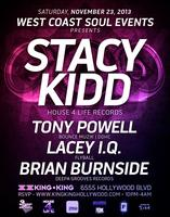 11/23 WCS Events - FUNKY HOUSE w / Stacy Kidd and Tony...