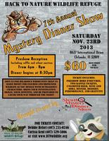 Mystery Dinner (7th Annual, benefitting Back To Nature...