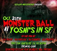 SYNERGY PRESENT'S 12TH ANNUAL MONSTER BALL