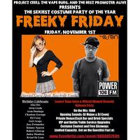 Freeky Friday Halloween Party