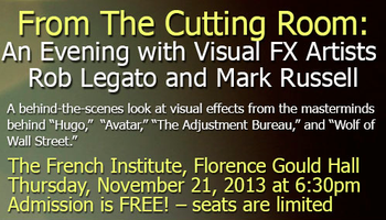 From The Cutting Room: An Evening with Visual FX...