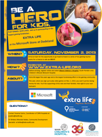 Extra Life Fundraiser at Microsoft at Dadeland Mall