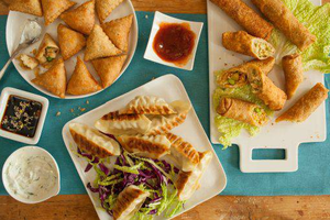 Bake and Serve Appetizer Tasting