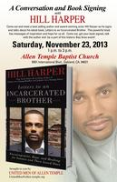 A Conversation and Book Signing with Hill Harper