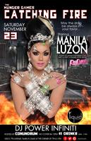 "THE HUNGER GAMES ""CATCHING FIRE"" FT. MANILA LUZON..."