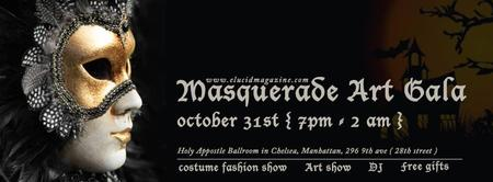 Masquerade Art Gala with Midnight Fashion Show
