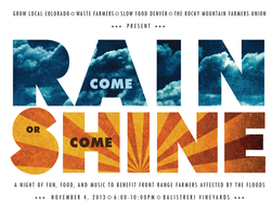 Come Rain or Come Shine: a night of fun, food, and...
