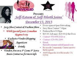 Self-Esteem & Self-Worth Soiree' Hosted by: Real Women...