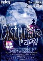DISTURBIA Halloween Party