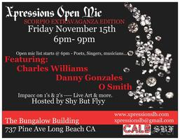 Xpressions open mic