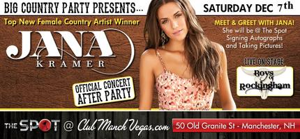JANA KRAMER AFTER PARTY