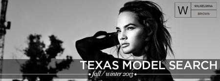 Wilhelmina Brown's TEXAS Model Search 2013