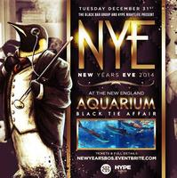 NEW YEARS EVE 2014 AT THE NEW ENGLAND AQUARIUM