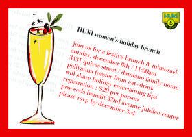 HUNI Womens Group - Holiday Brunch