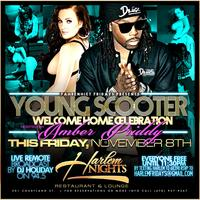 Young Scooter Welcome Home party hosted by Friday at Ha...