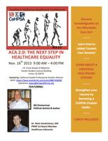 "SoCal Conference 2013 ""ACA 2.0: The Next Step In..."