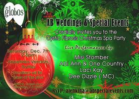 Christmas Spa Party benefiting Cystic Fibrosis Foundati...