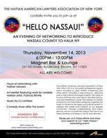 Hello Nassau! An evening of Food, Great People, Great...