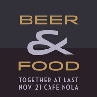 Café Nola: Beer & Food Pairing