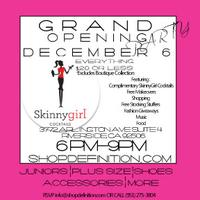 Definition Store Grand Opening Party: Complimentary...