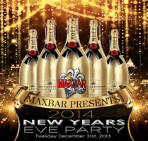 New Year's Eve 2014 at Maxbar