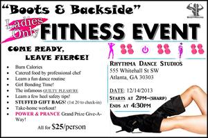 "BODYHOUSE FITNESS: ""BOOTS & BACKSIDE"" DANCE FIT EVENT"