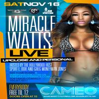 Miracle Watts (Heat Bobcats After Party)