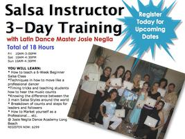 3-Day Salsa Instructor Training