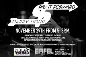 Bayou Classic Pay it Forward Happy Hour