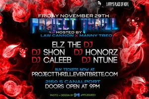 #ProjectTHRILL | BLACK FRIDAY EXTRAVAGANZA