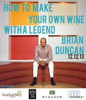 Create Your Own Wine with Winemaker Brian Duncan
