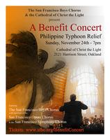 Philippines Disaster Relief Concert - SF Bay Area