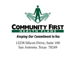 Affordable Care Fair by Community First Health Plans