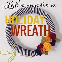 Wreath DIY with Jen Loves Kev