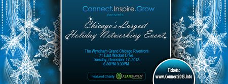 Connect.Inspire.Grow Presents Chicago's Largest...
