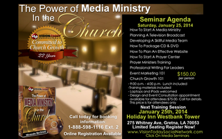 The Power of Media Ministry In The Church - January...