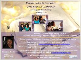 Women Called To Excellence Reunion Conference