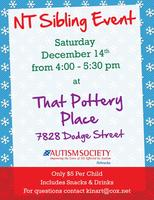 NT Sibling Event - Painting Party at That Pottery Place