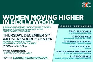 Women Moving Higher in Hollywood