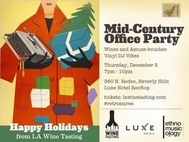 Mid-Century Holiday Party  (Luxe Hotel on Rodeo Drive)
