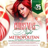 CHRISTMAS NIGHT AT THE METROPOLITAN