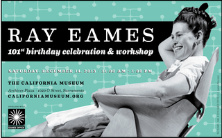Ray Eames' 101st Birthday & Historic Holidays On K...