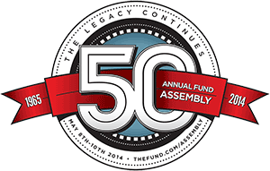 50TH ANNUAL FUND ASSEMBLY - MAY 2014