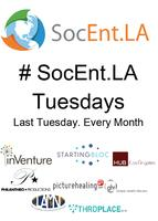 #SocEntLA Tuesdays @ Suede Bar Downtown - 07/31/12