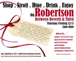 Robertson Holiday Stroll