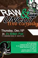 """SHAY CLEMONS COMEDY SHOW """"RAW & UNCUT"""""""