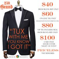 "the Block Association Presents ""250 Grand: New Years..."
